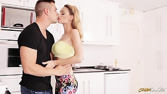 Zealous Sexy Lady With Juicy Ass Erica Fontes Is Fucked Mish On Table