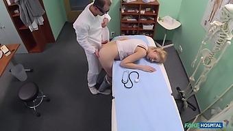 Dirty Doctor Dicks Lovely Elis Gilbert In His Exam Room
