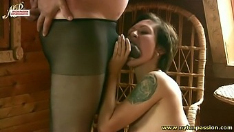 Pantyhose Is His Number One Fetish And He Loves To Have Sex With His Gf