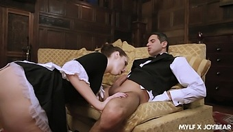Perfect Milfie Maid Paige Turnah Is So Happy To Ride Strong Cock On Top