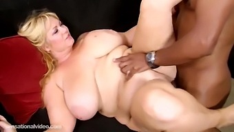 Samantha 38g Takes Bbc In Cunt And Spunk In Mouth