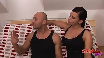 Man Gets Pegged By Gorgeous Simone Style And Winnie And Loves It