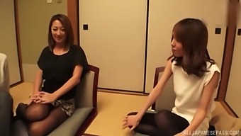Hardcore Foursome Fucking With Adorable Japanese Babe Katase Hitomi