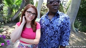 Interracial Fucking With Cock Hungry Redhead Slut Penny Pax