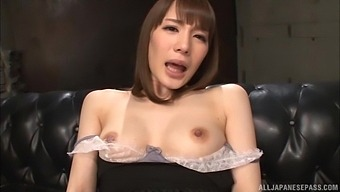 Solo Model Suzumura Airi Plays With Her Nice Tits And Wet Pussy