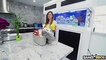 Pov Video Of A Naughty Guy Fucking His Sexy Cleaning Lady Alexa Vega