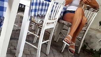Sexy Crossed Legs Compilation, Sexy Feet, Toes, Upskirt