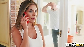 Balls Deep Mouth Fucking Ends With Pussy Drilling For Alexa Vega