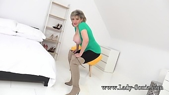 Busty Mature Lady Sonia Is Such A Naughty Tease