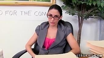 Strokies - Nikki Daniels - Naughty Secretary Nikki Dani