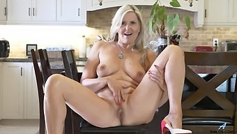 Velvet Skye Removes Her Clothes In The Kitchen To Have Some Fun