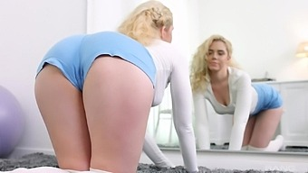 Charming Blonde Girl Kati Gold Gets Her Pussy Fucked From Behind