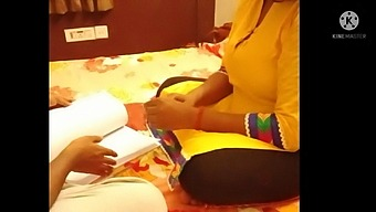 The Tution Mam  Seduce  Her Student With Clear  Hindi Audio.