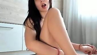 Sexy Teen Ebony Solo Toy Masturbation