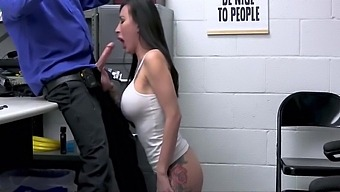 Busty Milf Lily Lane Steals Lingerie And Fucks Mall Cop