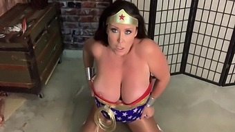 Christina Carter In Wonder Woman - I Want