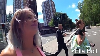 Real Cum Walk In Public By Ella Bolt In London Get Attention To The Pedestrians