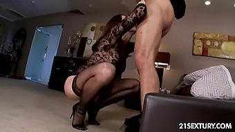 Sex Goddess Chanel Preston Takes Cumshots On Sexy Feet