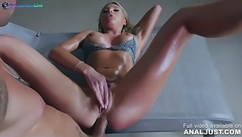 The Hot Girl Marylin Crystal Was Served With A Big Cock On All Her Holes By Just Anal