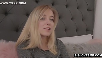Giving All The Fucks To Dick Loving Sis Haley Reed
