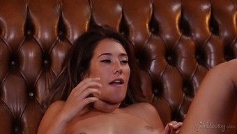 Attractive Bootyful Babe Miss Eva Lovia Is Turned Into Extremely Horny Lesbo