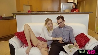 Super Flexible Chick Haley Reed Loves When Her Stepbrother Fucks Her Mish