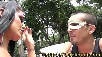 Peguei Mulher Casada No Carnaval De Rua E Levei Pro Ap