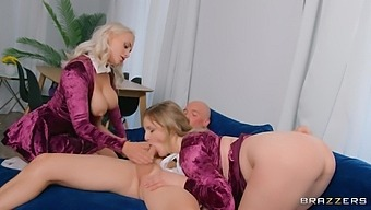 Ffm Threesome With Busty Best Friends Indica Monroe And Eliza Eves