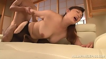 Nothing Makes Reiko Shimura Happier Than Sucking On A Hard Dick