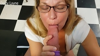 Surprised By Friends Hot Mom And She Swallows My Hard Young Cock