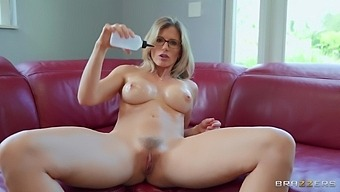 Solo Mature Mommy Cory Chase Takes Off Her Clothes To Masturbate