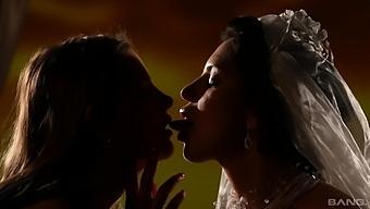 Lesbian Erotic Lovemaking Between Hot Girls Candy Alexa And Kira Queen