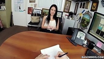 Fake Agent Slides His Dick In Tight Pussy Of Foxy Megan Rain