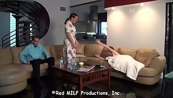 Milf Sofa Action