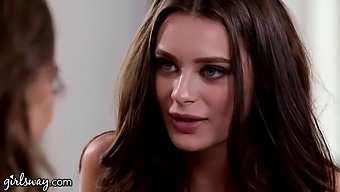 Erotic Lesbian Intercourse Video Starring Riley Reid And Lana Rhoades