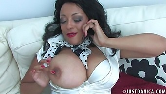 Closeup Homemade Video Of Horny Danica Collins Fingering Her Cunt