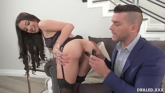 Pretty College Girl Vanessa Vega Needs Her Ass Prepared For First Anal