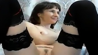 Shy Mom Fisted Herself Hard. Part 2