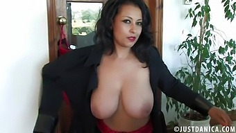 Solo Old Cunt Danica Collins Moans While Playing With Her Fingers
