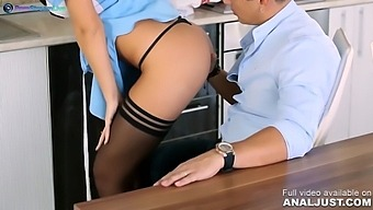 Redhead Devil From Anal Only In Seductive Maid Ginger Devil Fucked By Her Employer