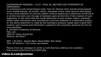 Jasmine Black & Pascal White & Tony James In Dp Dreams - Jasmine Black Videos