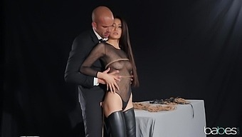 Slender Asian Teen Rae Lil Black Rope Tied And Fucked