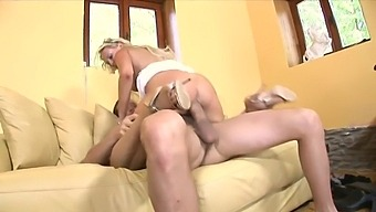Blonde Hottie In Glasses Carla Cox Gives A Blowjob And Gets Screwed