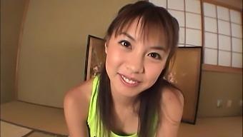Natural Boobs Japanese Chick Mai Hagiwara Loves Pleasuring