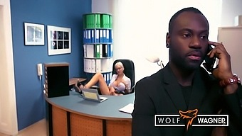 The Boss Bangs His New Office Slut Lena Lay