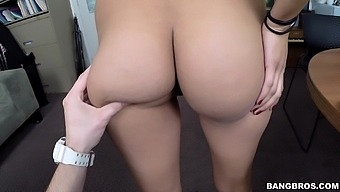 Incredible Fucking On The Floor With Natural Tits Jessi Lopez