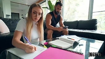 Lustful Room-Mate Scarlet Chase Wants Him To Put It In Her Ass