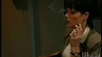Late Night Mmf Threesome With Wife Jenna Fine In High Heels