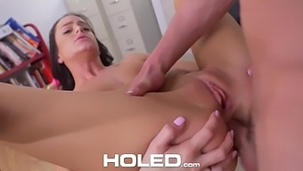 Spoiled Student Ariana Marie Gets Her Anus Rammed After Licking Hard Dick