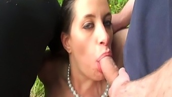 Gangbang In The Wood For Jade
